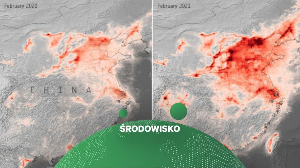 Europejska Agencja Kosmiczna. Dzięki obostrzeniom poziom zanieczyszczeń powietrza spadł nawet o 45 proc.