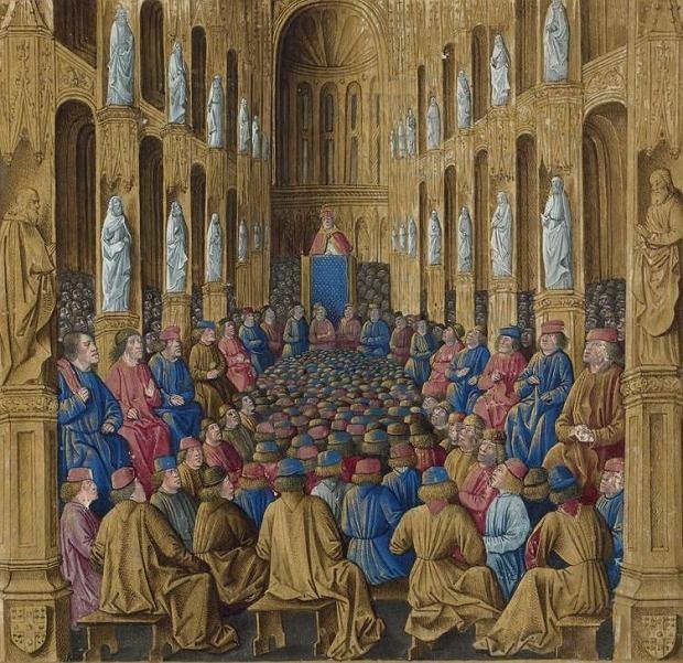 W 1095 r. na synodzie w Clermont we Francji papież Urban II wezwał do wyprawy krzyżowej