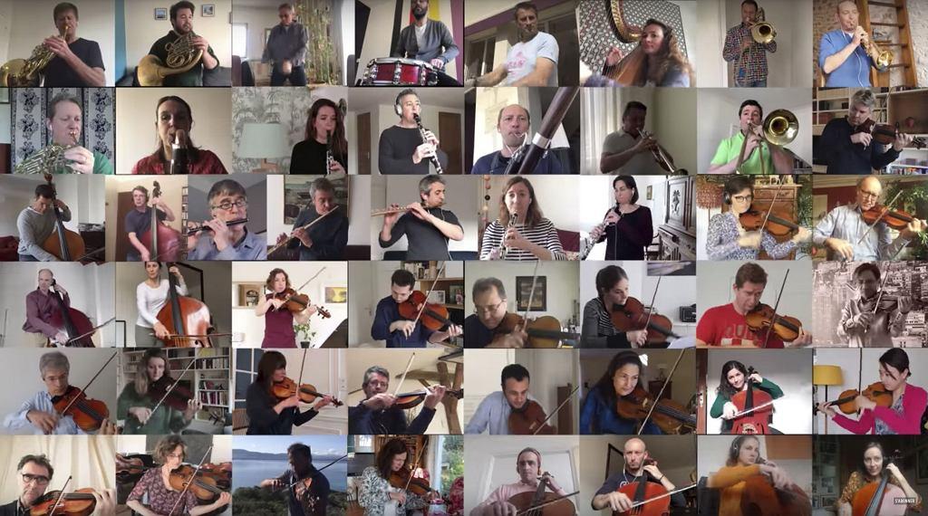 Francuska Orkiestra Narodowa gra 'Bolera'