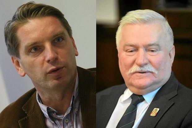 Tomasz Lis i Lech Wałęsa