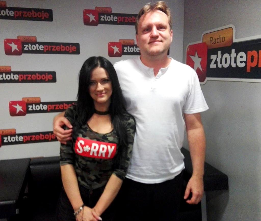 Jula i Kuba Mędrzycki w studiu Radia Złote Przeboje