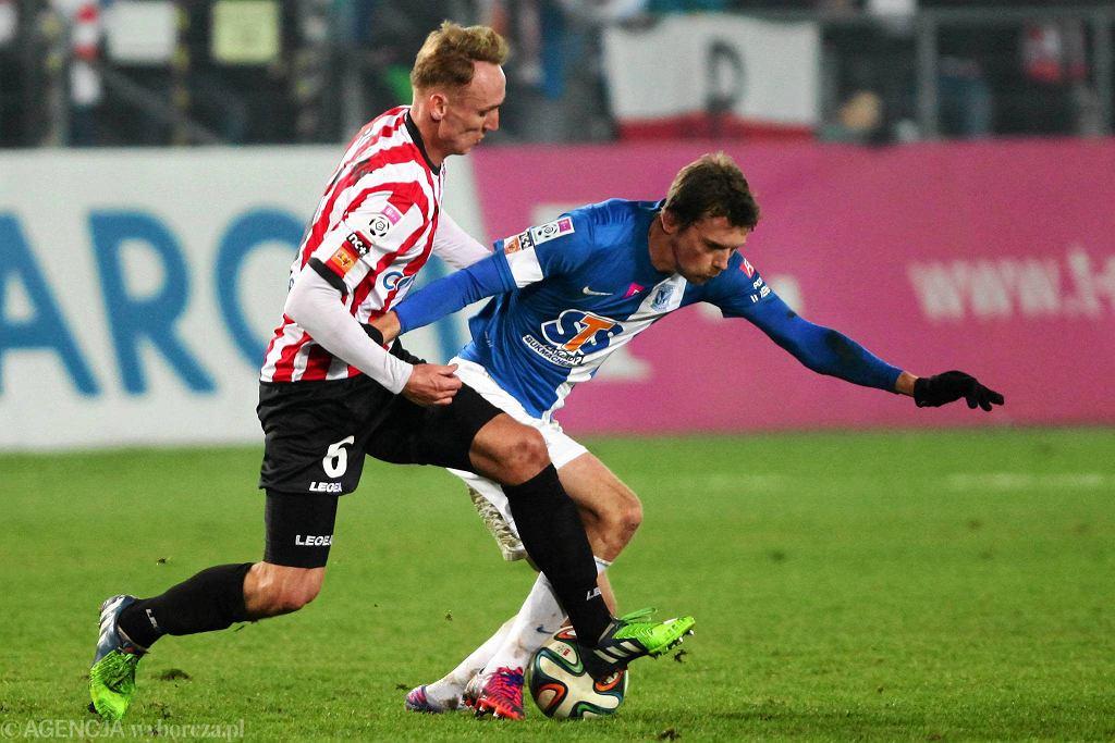 Cracovia - Lech Poznań 0:0. Kasper Hamalainen i Adam Marciniak