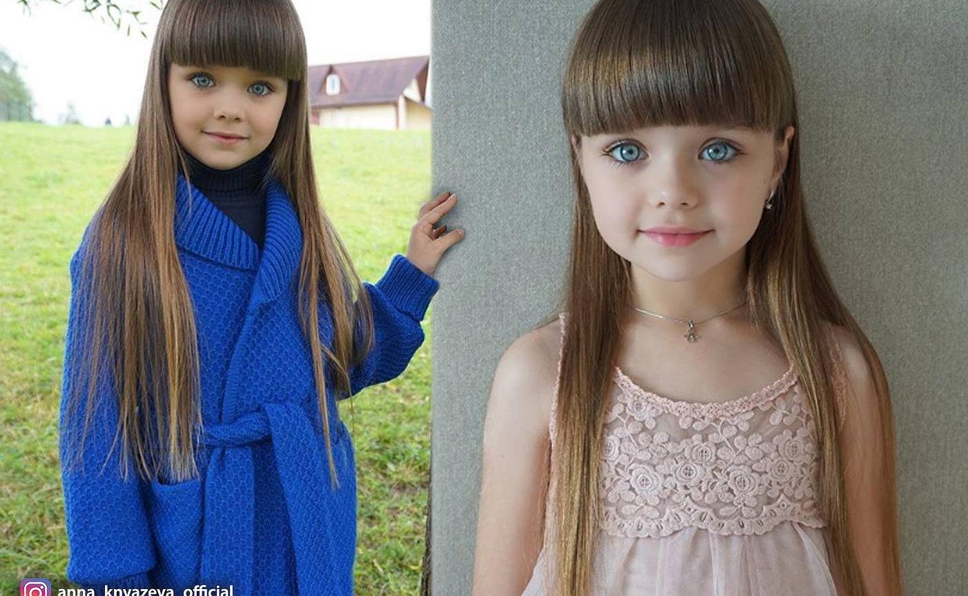 7 Latka Okrzyknięta Najpiękniejszą Dziewczynką Na świecie