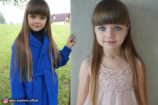 """7-latka okrzyknięta """"najpiękniejszą dziewczynką na świecie"""". Internauci grzmią: """"To przerażające"""""""