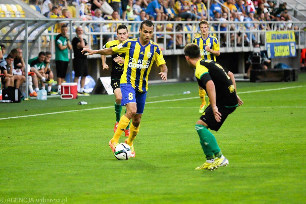 Marcus da Silva nie zabłysnął w meczu z GKS-em