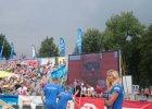 Nawałnica w Nowej Hucie przerwała mistrzostwa Polski w siatkówce plażowej [WIDEO]
