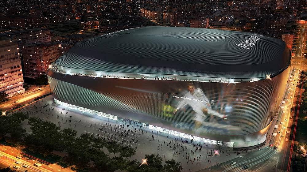Estadio Santiago Bernabeu (nowy projekt)