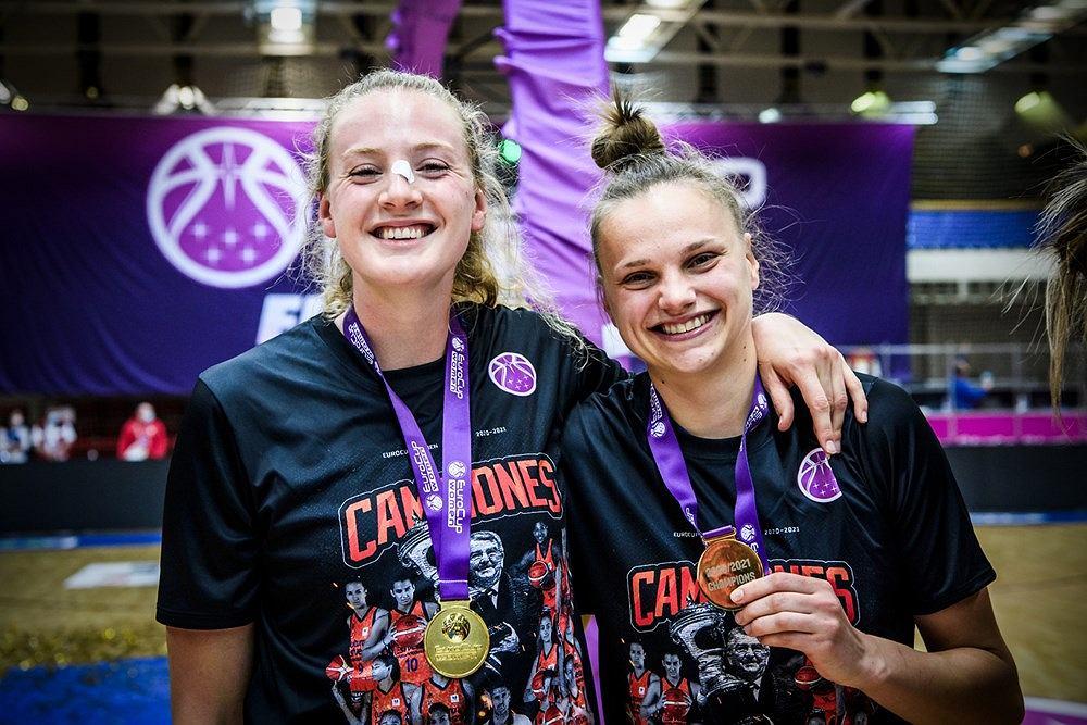 Kwiecień 2021 r. Finał EuroCup kobiet: Walencja Basket Club SAD (Hiszpania) - Reyer Wenecja (Włochy) 82:81