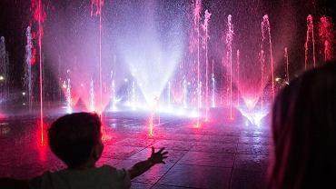 Multimedialne fontanny w Parku Szymańskiego