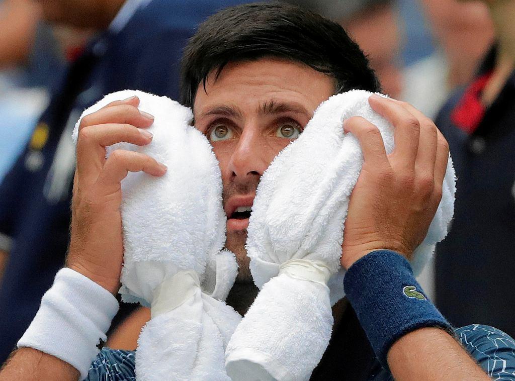 Novak Djokovic, US Open, Nowy Jork, 28 sierpnia 2018