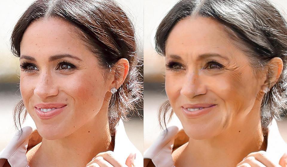 Jak wyglądać będą  kiedyś Kate i Meghan?