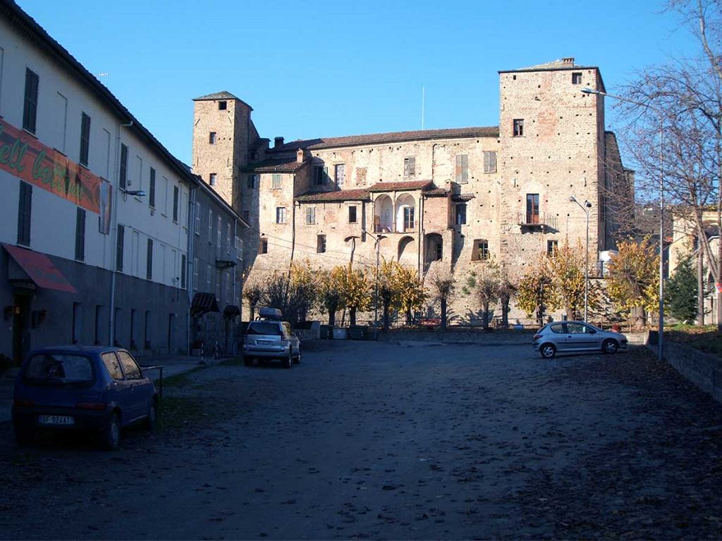 Zamek Monastero Bormida