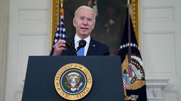 Joe Biden, prezydent USA.