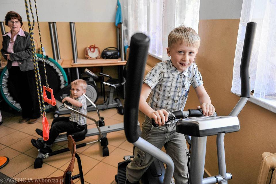 Ustrzyki Dolne. Podopieczni Bieszczadzkiego Stowarzyszenia Na Rzecz Dzieci i Młodzieży Niepełnosprawnej