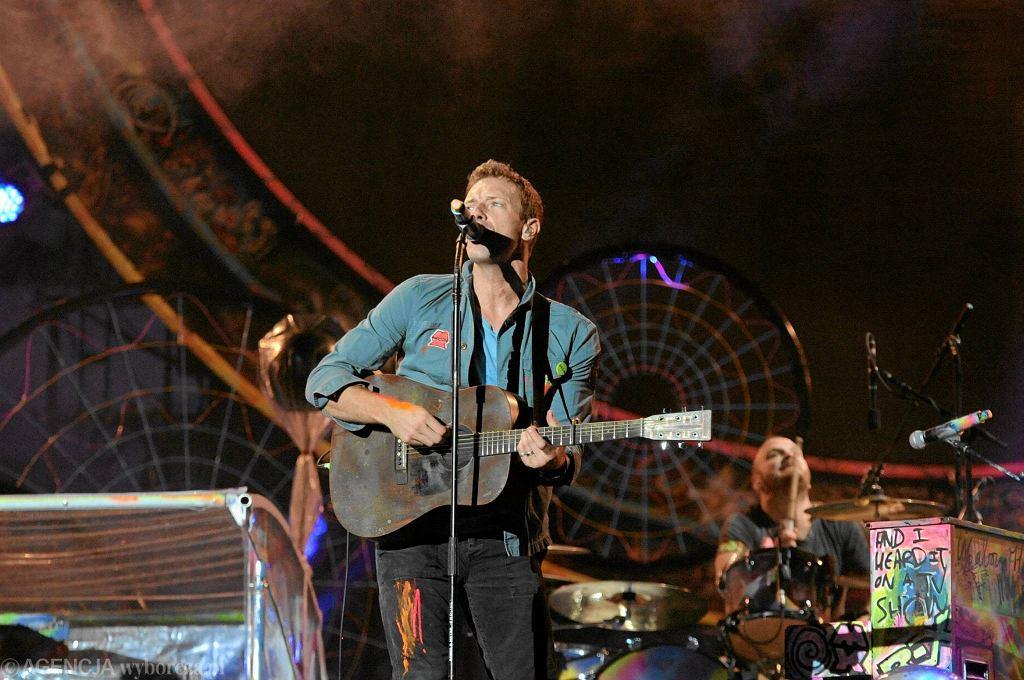 Coldplay na Stadionie Narodowym w Warszawie (19 września 2012 r.) / ADAM STĘPIEŃ