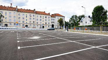 Zakończyła się budowa parkingu przy ul. Rychlińskiego w Bielsku-Białej