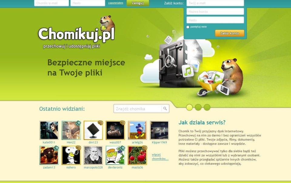 Strona chomikuj.pl