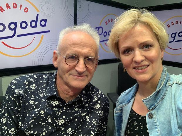 Krzesimir Dębski i Anna Stachowska w Radiu Pogoda!