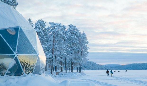 Konstrukcje dla ośrodka Harriniva na północy Finlandii