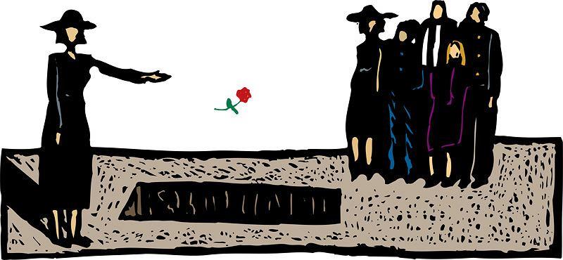 Czy wdowie z pierwszego małżeństwa też składać kondolencje?