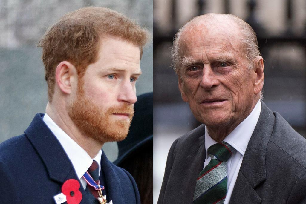 Książę Harry / książę Filip