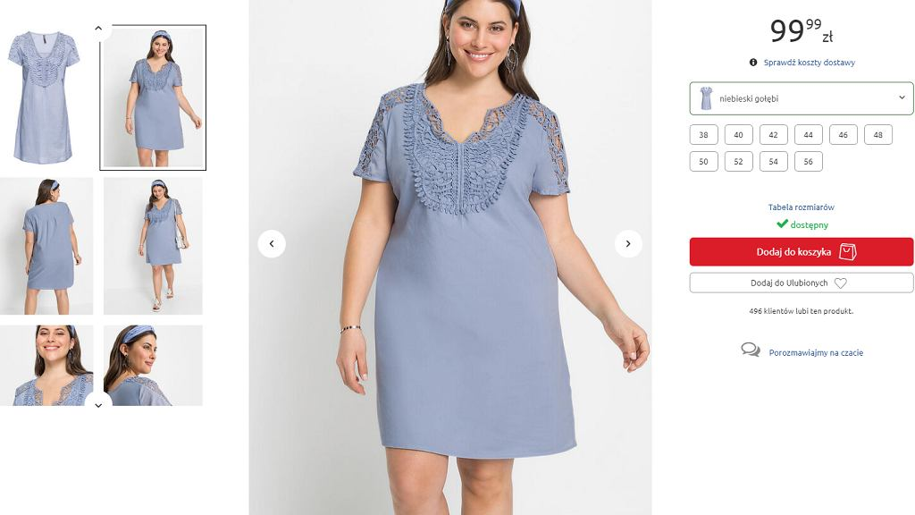 sukienka plus size