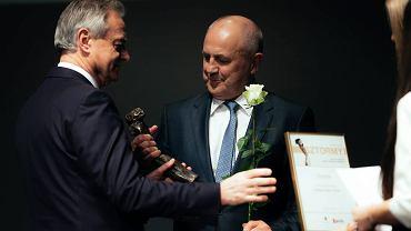 Gala Pomorskich Sztormów. Nagrodę dla firmy Drutex odbiera jej prezes Leszek Gierszewski