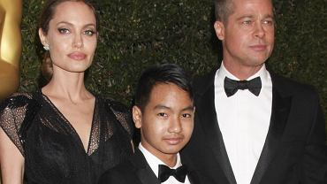 Angelina Jolie, Brad Pitt, Maddox