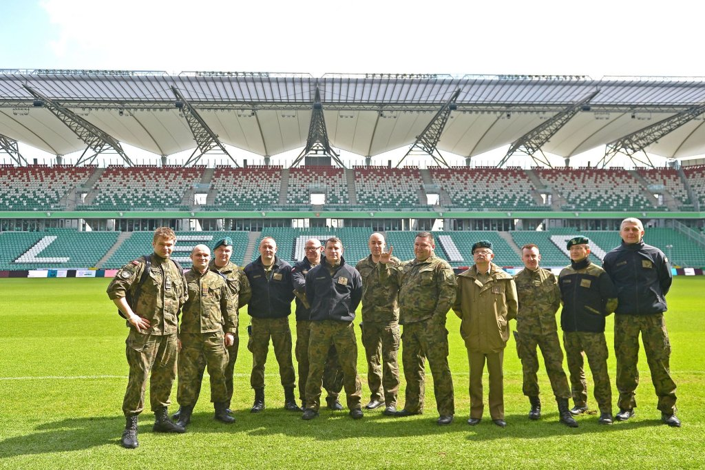 Wizyta wojskowych weteranów na Legii