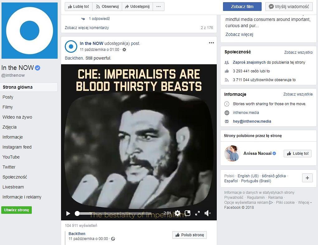 Zwierzątka, planeta, ekologia i Che Guevara obok siebie
