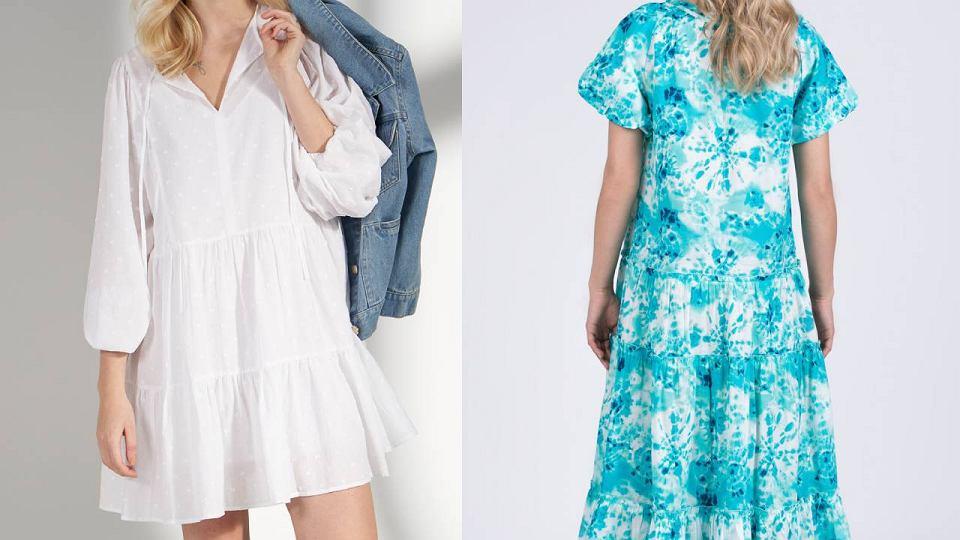 Sukienki plus size Monnari