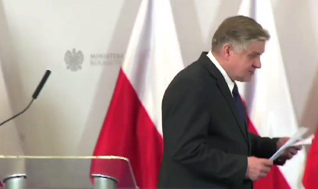 Jurgiel kończy konferencję