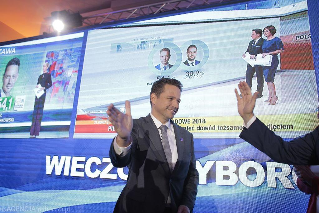 Wieczor wyborczy w sztabie Koalicji Obywatelskiej