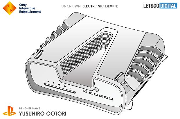 Sony opatentowało projekt nieznanego urządzenia. Tam może wyglądać PS5