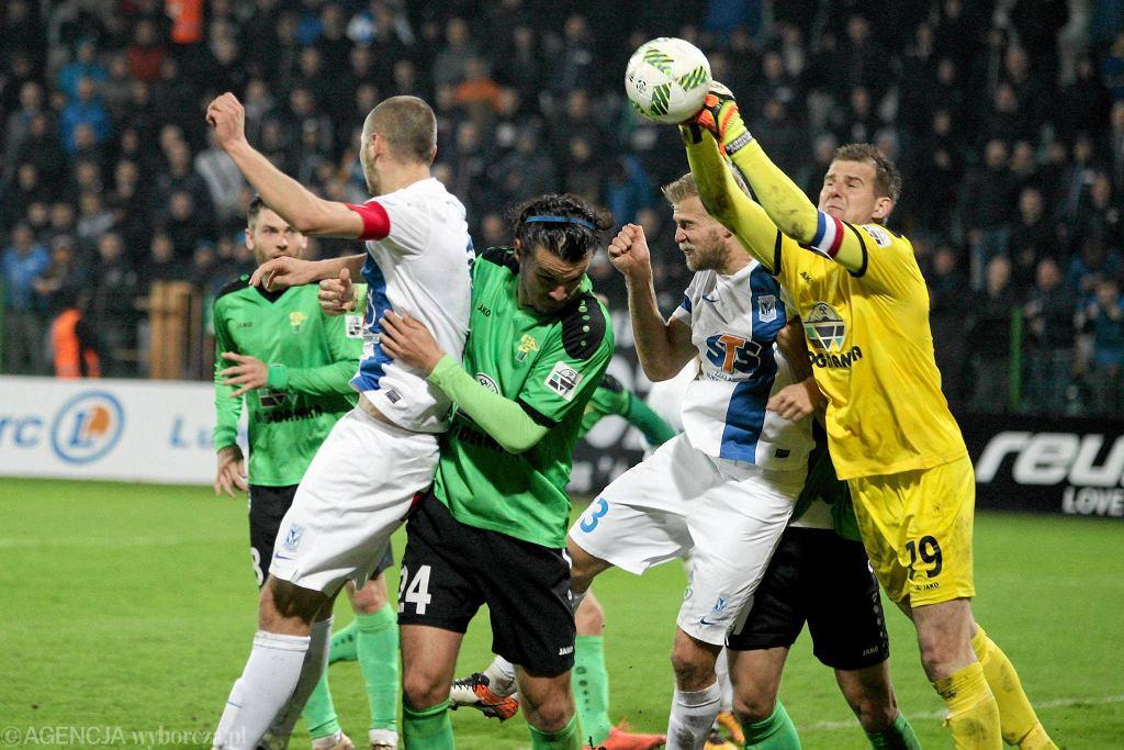Górnik Łęczna - Lech Poznań 0:1. Łukasz Trałka. Paulus Arajuuri
