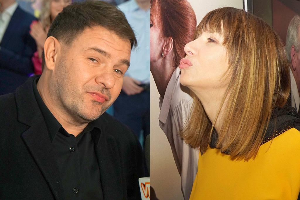 Grażyna Wolszczak i Tomasz Karolak