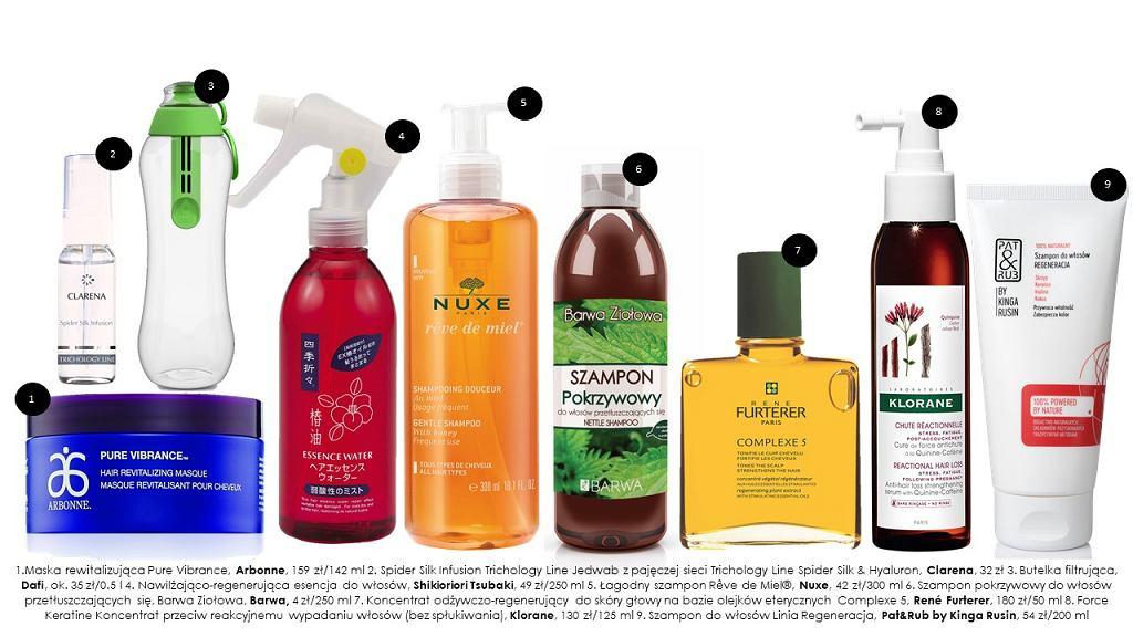 Kosmetyki do włosów polecane na wiosnę