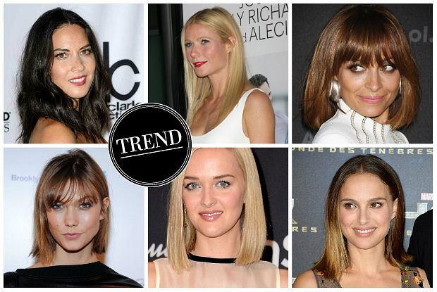 Włosy od linijki - gwiazdy lansują nowy trend. Czy proste końce zastąpią modne od lat cieniowanie?