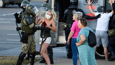 Powyborcze protesty na Białorusi. Szczerba: Wśród zatrzymanych w Mińsku jest dwóch polskich studentów