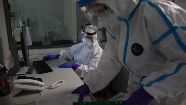 Szpital, w którym przebywają osoby zakażone koronawirusem