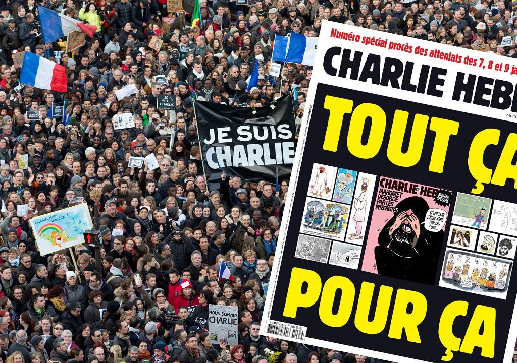'Charlie Hebdo' ponownie publikuje karykatury Mahometa
