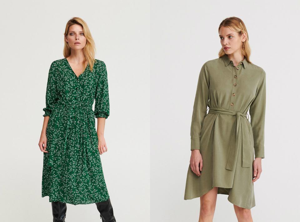 Sukienki w kolorze zieleni