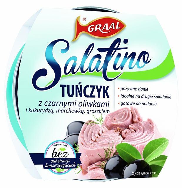 GRAAL Salatino - Tuńczyk z czarnymi oliwkami