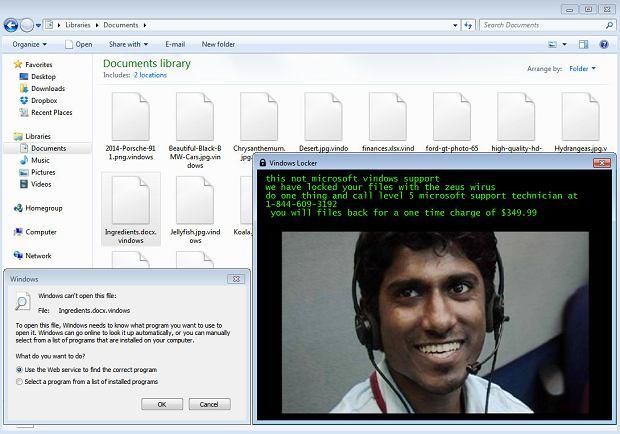 Fałszywy konsultant Microsoft