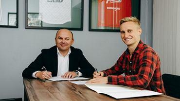 Bartłomiej Pawłowski podpisał kontrakt ze Śląskiem Wrocław