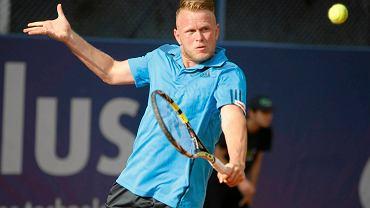 Grzegorz Panfil znów zagra w challengerze Poznań Open
