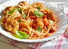 Spaghetti z klopsikami - ugotuj