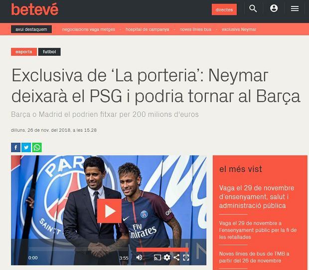 Neymar odejdzie z PSG