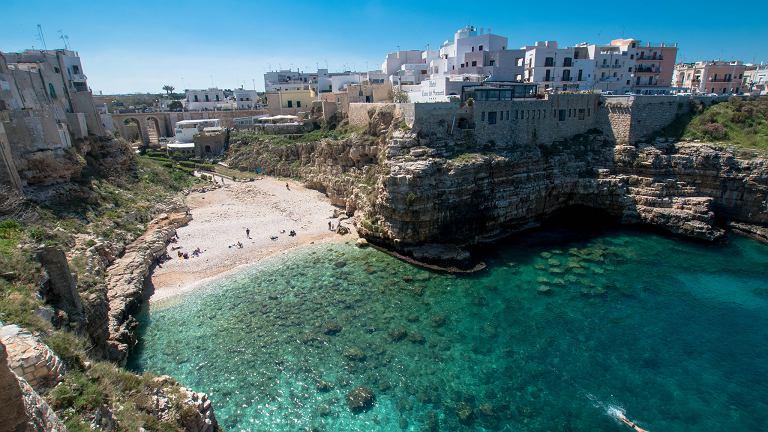Polignano a Mare na południu Włoch wprowadza opłaty dla turystów