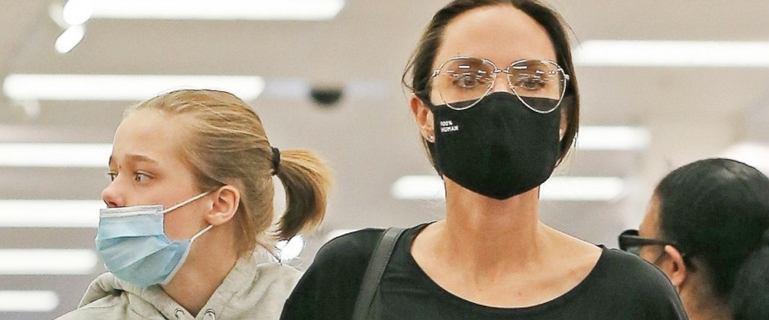 Angelina Jolie zabrała dzieci na zakupy do supermarketu